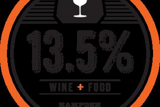 13.5% Wine Bar Logo